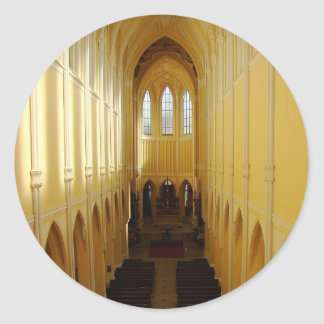 Church Of The Assumption Of Our Lady Classic Round Sticker
