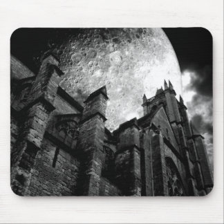 Church of the full moon mouse pad