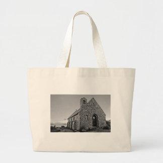 church of the good shepherd large tote bag