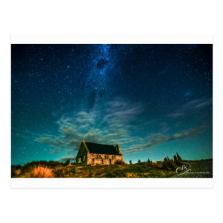 Church of the good shepherd Tekapo Post Card