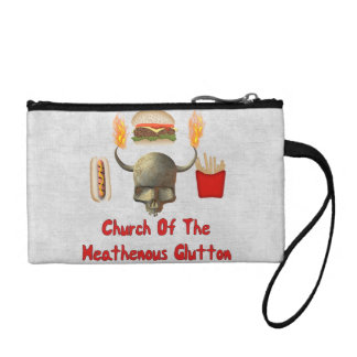 Church Of The Heathenous Glutton Coin Purse