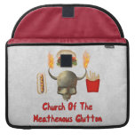 Church Of The Heathenous Glutton MacBook Pro Sleeves