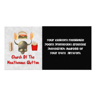 Church Of The Heathenous Glutton Photo Cards