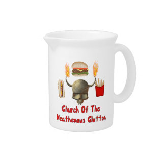 Church Of The Heathenous Glutton Pitcher