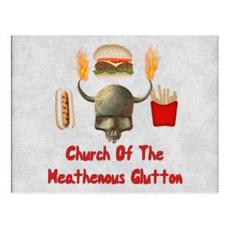Church Of The Heathenous Glutton Postcard
