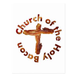 Church of the Holy Bacon Postcard