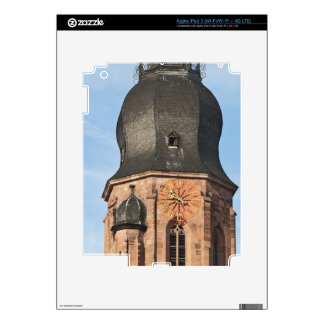 Church of the Holy Ghost in Old Town Heidelberg Skins For iPad 3