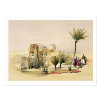 Church of the Holy Sepulchre, Jerusalem, plate 11 Postcard