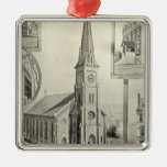 Church of the Immaculate Conception, Waterbury Metal Ornament