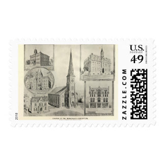 Church of the Immaculate Conception, Waterbury Postage