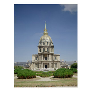 Church of the Invalides, built 1679-1708 Postcard