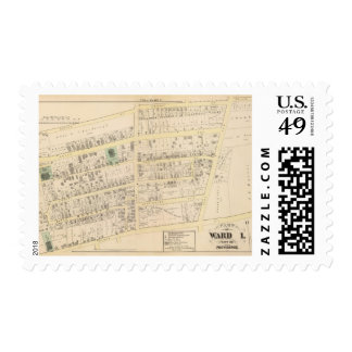 Church of the Redeemer and Unitarian Church Atlas Postage Stamp