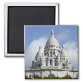 Church of the Sacred Heart 2 Inch Square Magnet