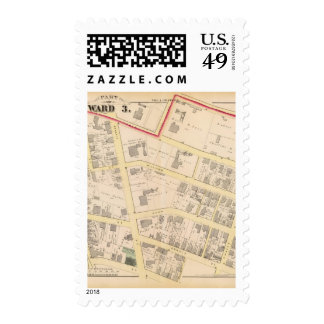 Church of the Savior and estate of John Car Atlas Postage