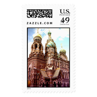 Church of the Savior on Blood Postage Stamps