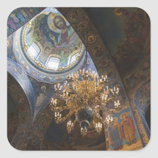 Church of the Saviour of Spilled Blood 2 Square Sticker