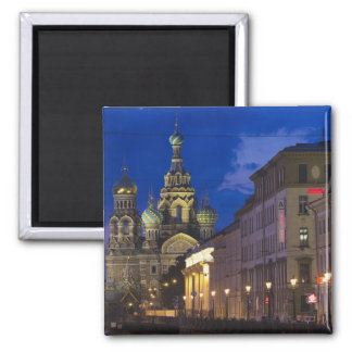 Church of the Saviour of Spilled Blood 3 2 Inch Square Magnet