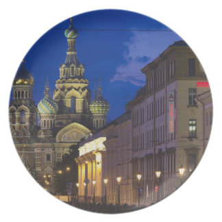 Church of the Saviour of Spilled Blood 3 Melamine Plate