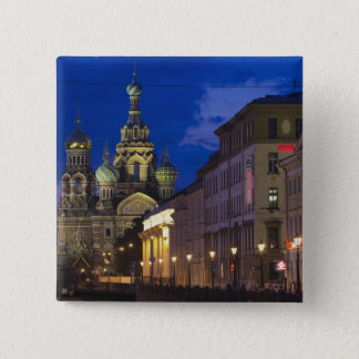 Church of the Saviour of Spilled Blood 3 Pinback Button