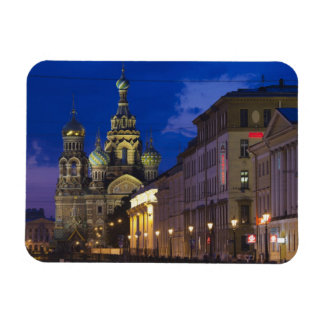Church of the Saviour of Spilled Blood 3 Rectangular Photo Magnet