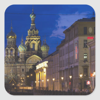 Church of the Saviour of Spilled Blood 3 Square Sticker