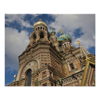 Church of the Saviour of Spilled Blood 4 Poster