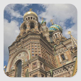 Church of the Saviour of Spilled Blood 4 Square Sticker