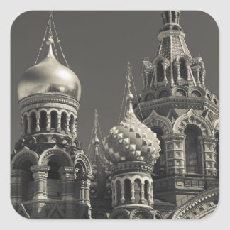 Church of the Saviour of Spilled Blood 5 Square Sticker