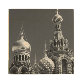 Church of the Saviour of Spilled Blood 5 Wooden Coaster