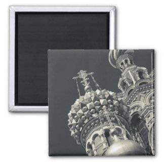 Church of the Saviour of Spilled Blood 6 2 Inch Square Magnet