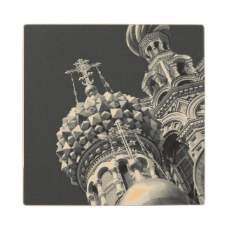 Church of the Saviour of Spilled Blood 6 Wooden Coaster