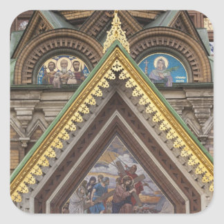 Church of the Saviour of Spilled Blood Square Sticker