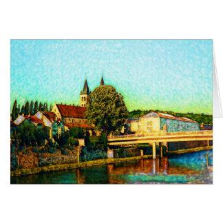Church On The River Card