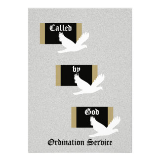 Church Ordination Invitation -- Called by God Invitation