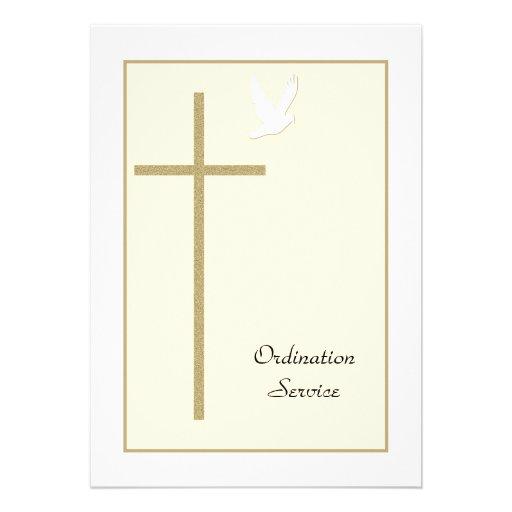 Personalized Ordination Invitations Custominvitations4u Com