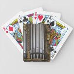 Church Organ Bicycle Playing Cards