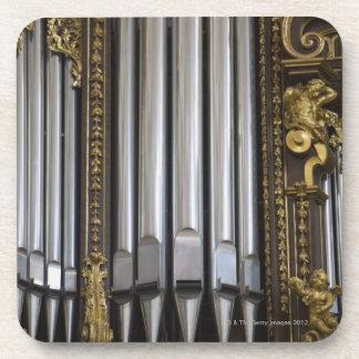 Church Organ Coaster