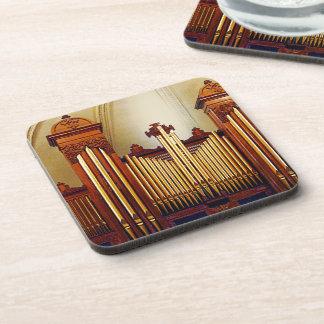 Church Organ Drink Coaster
