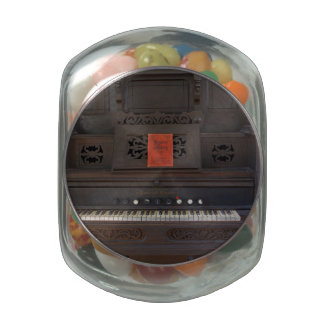 Church Organ Glass Candy Jar