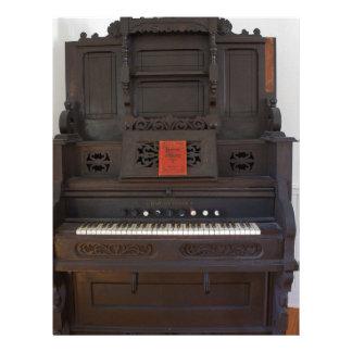 Church Organ Letterhead