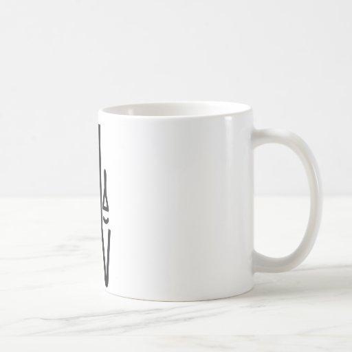 church organ pipes icon coffee mug