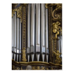 Church Organ Postcard