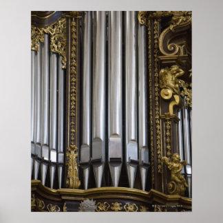 Church Organ Posters