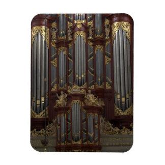 Church organ rectangular photo magnet