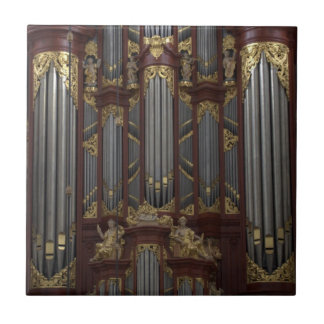 Church organ tile