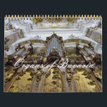 """Church organs of Bavaria Calendar<br><div class=""""desc"""">Southern Germany is the home of many famous pipe organs that are renowned for their exuberant baroque and rococo designs. In this organ calendar (which is customisable), it is easy to see the joy and passion the builders and artists who created these instruments long ago felt for their creations. Not...</div>"""