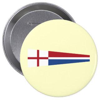 Church Pennant, Netherlands Pinback Button