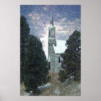 Church print