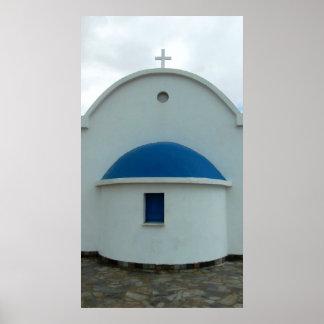 Church Poster Cyprus