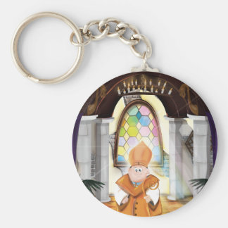 Church Priest Keychain